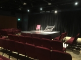 <h5>Gloucester Room showing stage</h5>