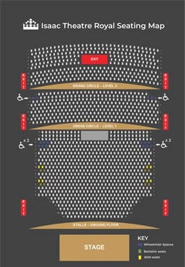 ITR Seating plan thumbnail image