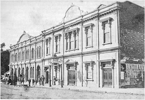 The second Theatre Royal on the South-side of Gloucester Street.