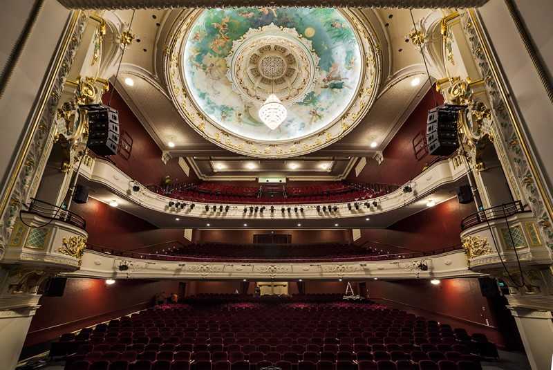 The restored Isaac Theatre Royal auditorium, after the quake repairs.