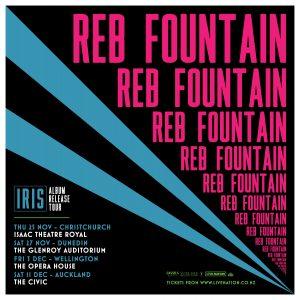 Reb Fountain - IRIS New Zealand Tour