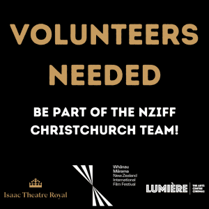 Volunteers Needed for NZIFF!